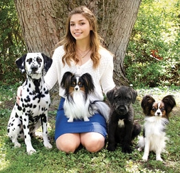 Purebred Dogs Junior Handlers Picture Of A Girl With Her Purebred Dog